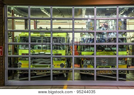 Fire department in Carmel NY , town in Putnam county .