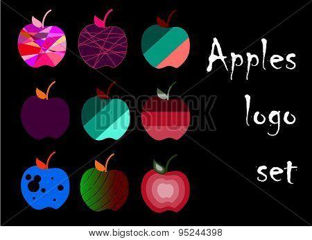 Apples Logo Set