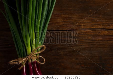 Onions Tied With A Rope