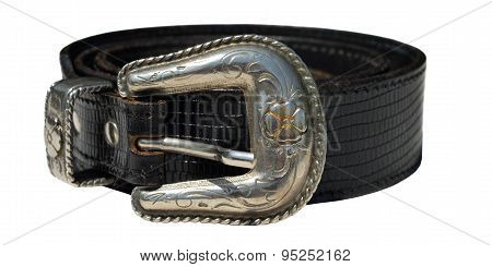 Cowboy Leather Belt