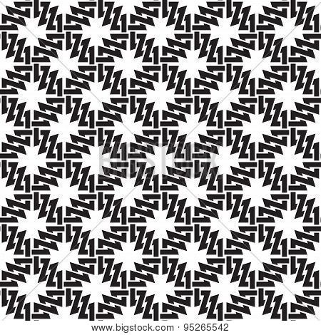 Seamless pattern of the links in form of crosses