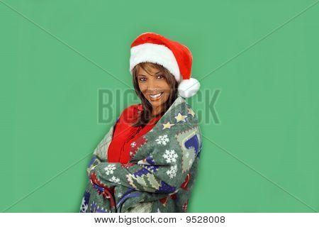 Beautiful Santa's Helper
