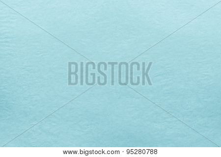 texture of old paper of pale blue color for empty and pure backgrounds poster