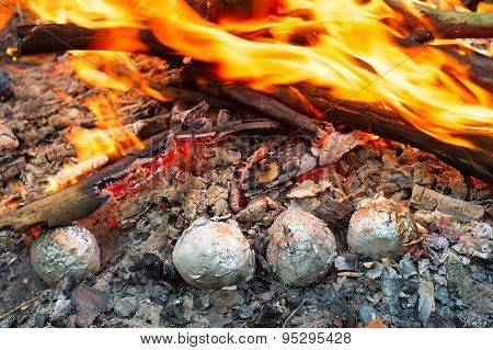 Potatoes In The Fire