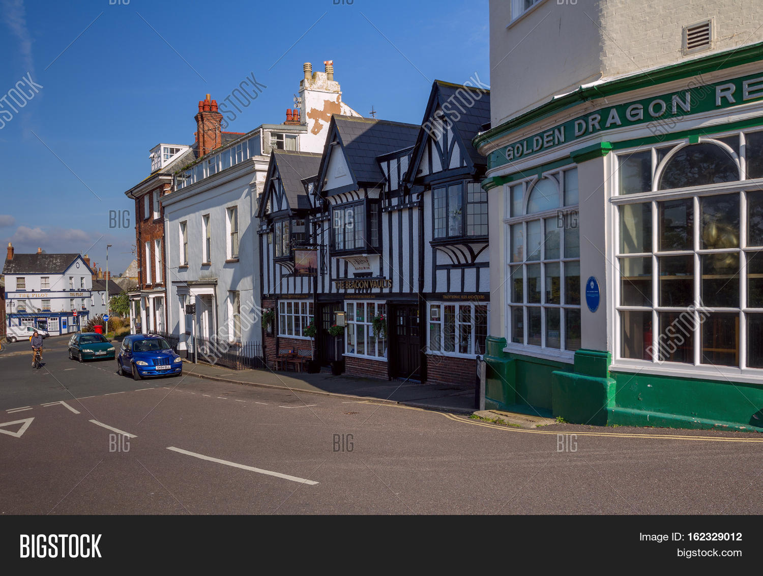 EXMOUTH UK 21 October Image & Photo (Free Trial) | Bigstock