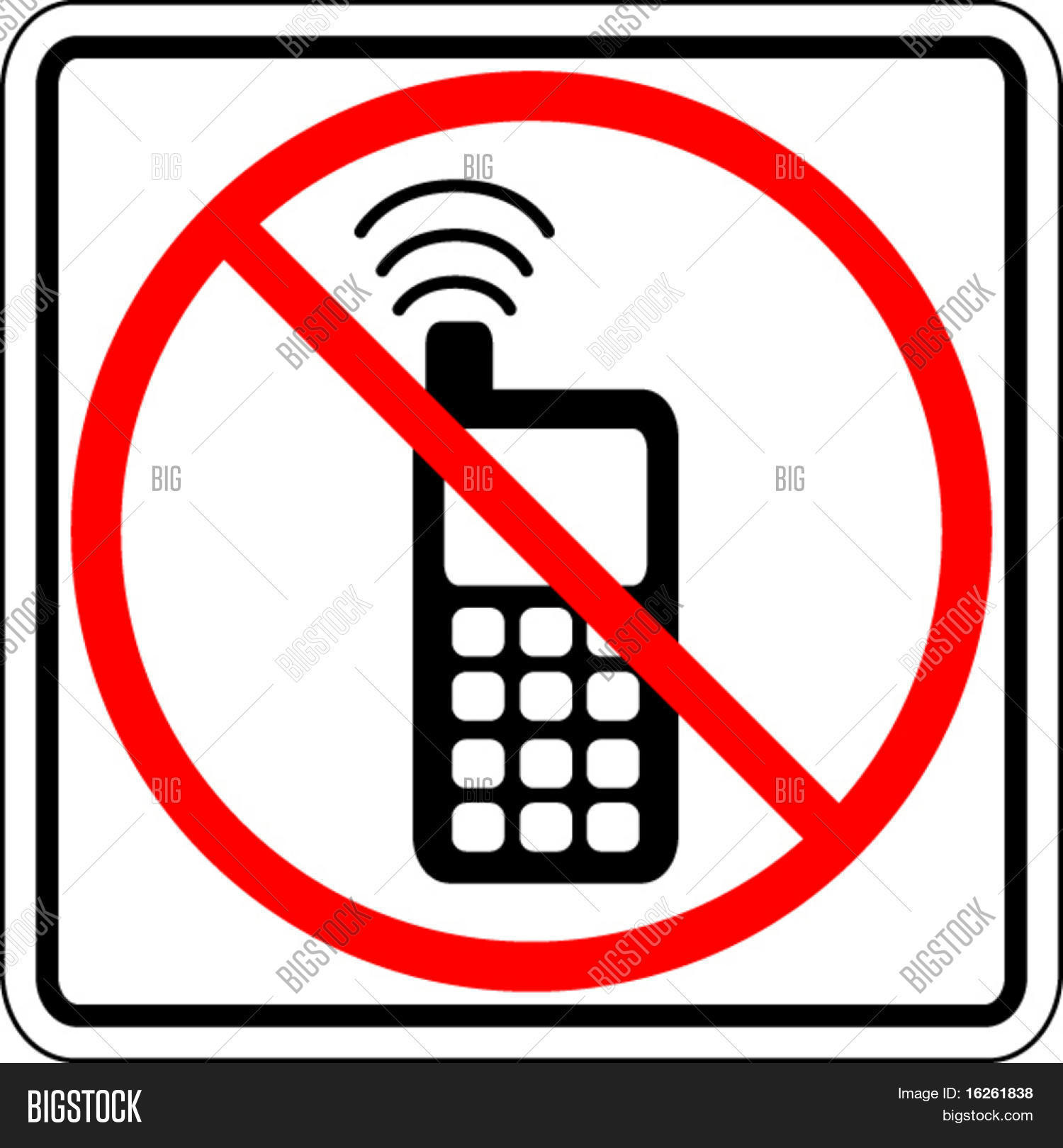 Cell Phone Use Vector Photo Free Trial Bigstock