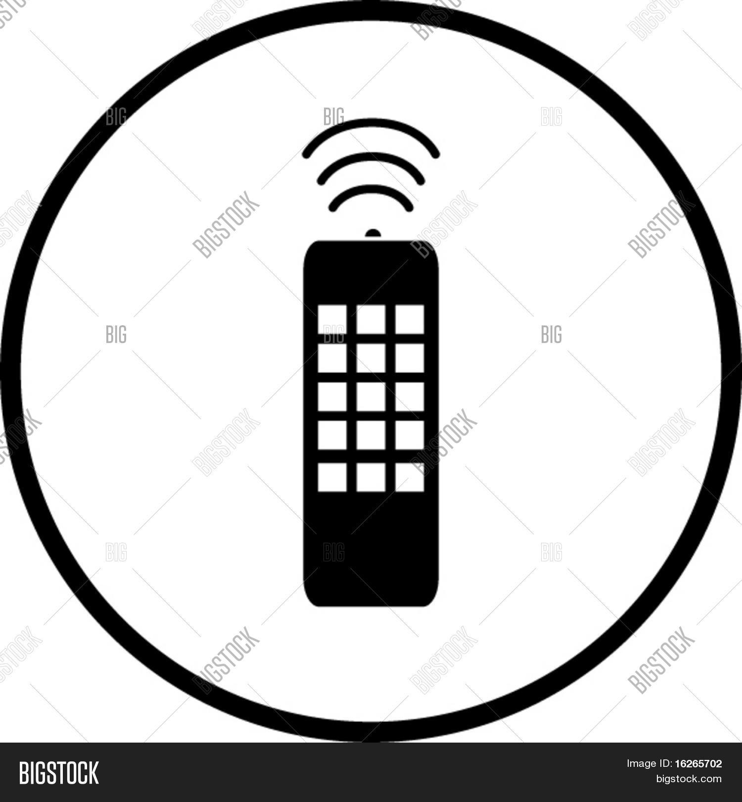 Remote Control Symbol Vector Photo Free Trial Bigstock