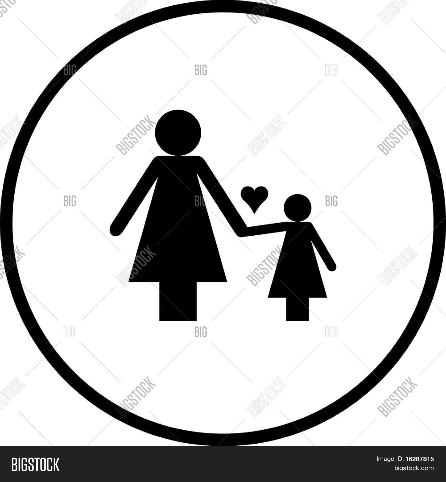 Imagen Y Foto Símbolo De Madre E Prueba Gratis Bigstock