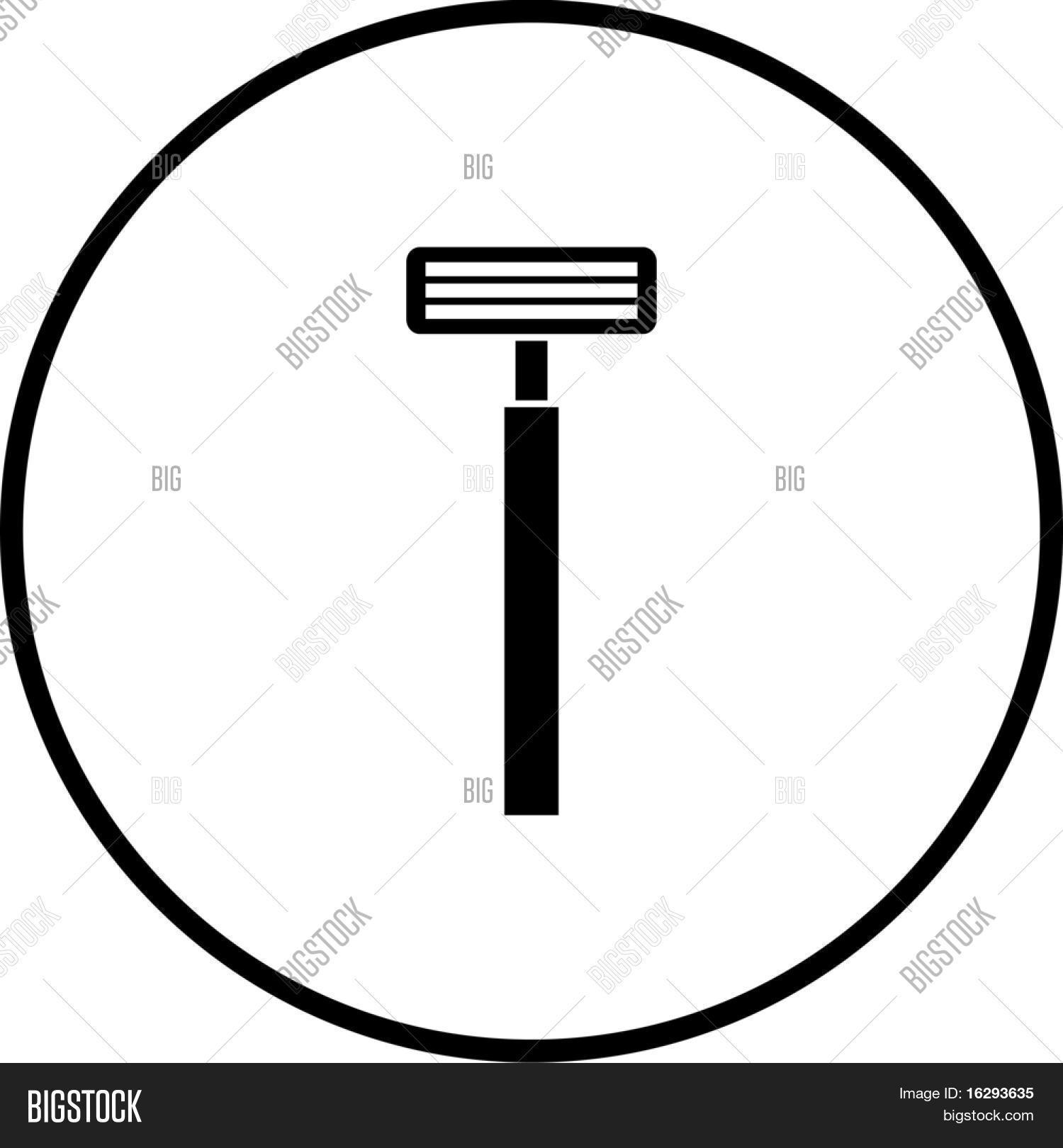 Shaving Razor Symbol Image & Photo (Free Trial) | Bigstock