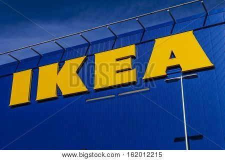 Las Vegas - Circa December 2016: IKEA Home Furnishings Store. Founded in Sweden IKEA is the world's largest furniture retailer II