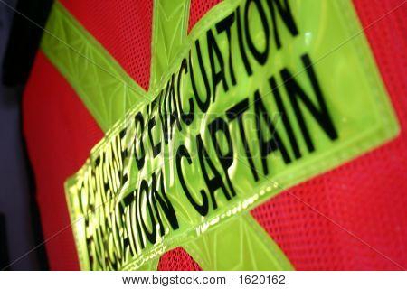 Evacuation Captain Safety Vest