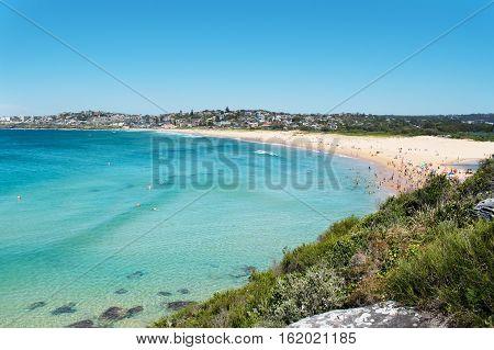 Sydney severní pláže- Freshwater beach rijen 2016