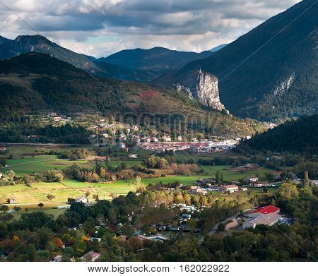 Castellane is a commune in the Alpes-de-Haute-Provence department in southeastern France.