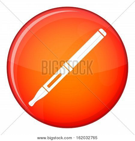 Mod and clearomizer in the kit icon in red circle isolated on white background vector illustration