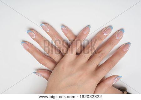 beautiful jenskie nails nail art painted background