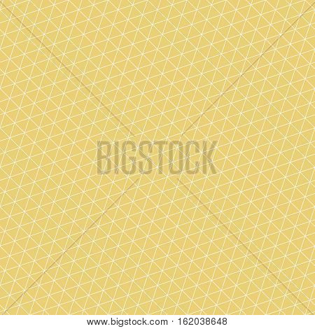Seamless pattern. Stylish geometric texture. Modern linear ornament. Regularly repeating thin line grids with triangles polygons hexagons rhombuses. Vector element of graphic design