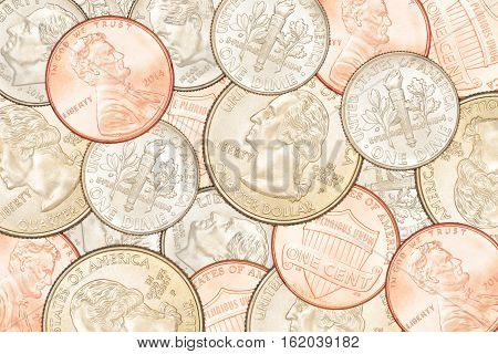 Us Coins Background