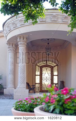 Lovely Front Door Entrance
