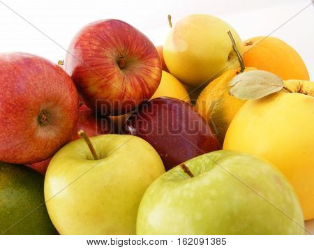 Newest and most beautiful green, red, yellow apple pictures