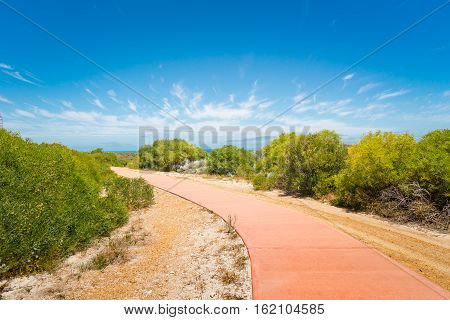 Stone Pathway in a Yanchep National Park