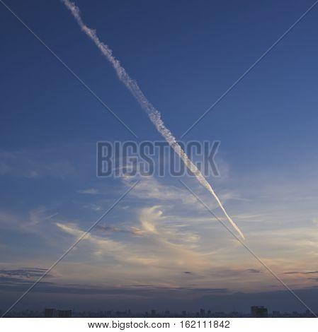 Blue Vivid Sky.