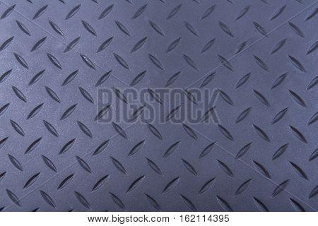 Tough durable diamond plate black rubber background