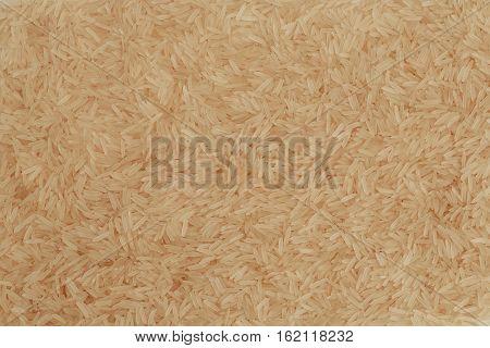 Steamed Basmati Rice photo, asian food background