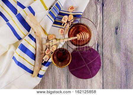 Jewish Symbol Rosh Hashanah  Holiday Matzoh Passover Bread Torah