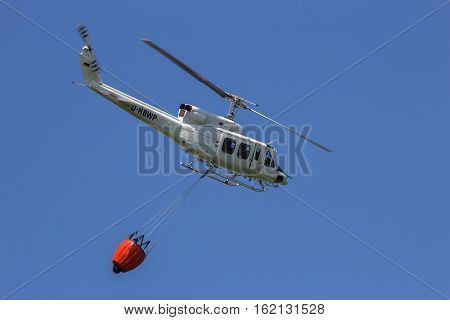Helicopter Bambi Bucket Fire Fichting