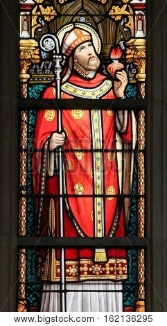 Stained Glass - Saint Augustine