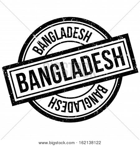 Bangladesh rubber stamp. Grunge design with dust scratches. Effects can be easily removed for a clean, crisp look. Color is easily changed.