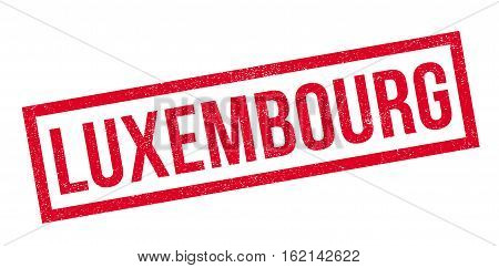 Luxembourg rubber stamp. Grunge design with dust scratches. Effects can be easily removed for a clean, crisp look. Color is easily changed.