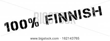 100 percent Finnish rubber stamp. Grunge design with dust scratches. Effects can be easily removed for a clean, crisp look. Color is easily changed.