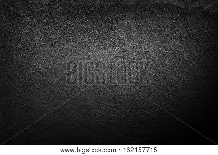 Black old dirty dark stone wall background