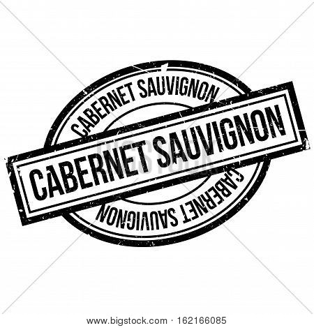 Cabernet Sauvignon rubber stamp. Grunge design with dust scratches. Effects can be easily removed for a clean, crisp look. Color is easily changed.