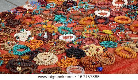 Colorful Semiprecious Stone Bracelets For Sale