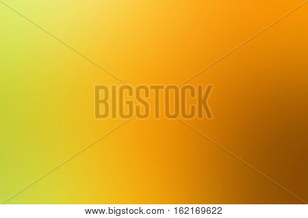 Orange White Green Abstract Background Blur Gradient