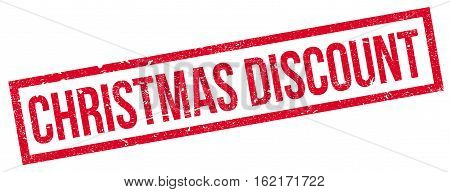 Christmas Discount rubber stamp. Grunge design with dust scratches. Effects can be easily removed for a clean, crisp look. Color is easily changed.