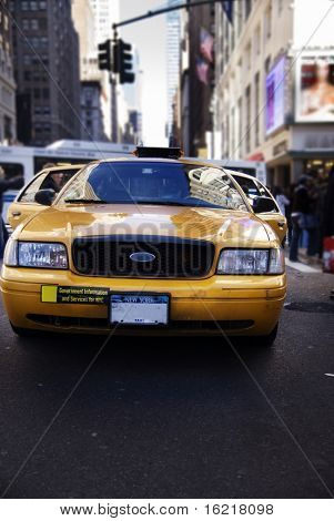 NYC Cab at Madison Square Garden