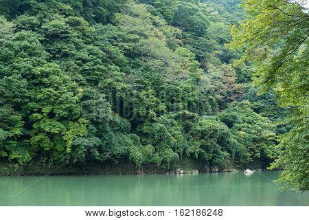 Lake of Arashiyama
