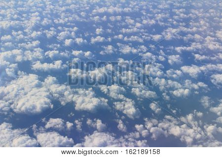Gorgeous White Clouds In The Blue Sky