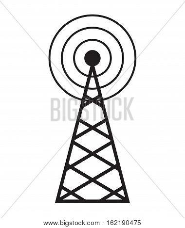 cellular braodcasting antenna service vector illustration eps 10