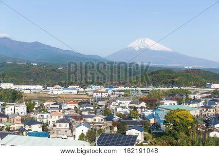 Fujisan in Shizuoka city