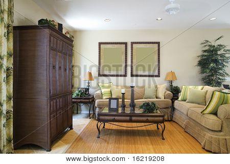 Vackra nya vardagsrum