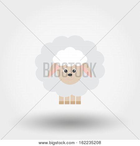 Sheep. Toy Icon.