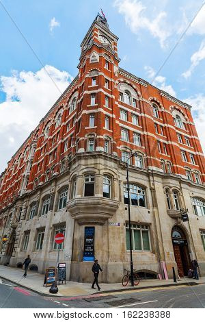 Historic Building In Southwark, London