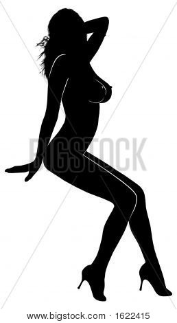 Woman Silhouette-012