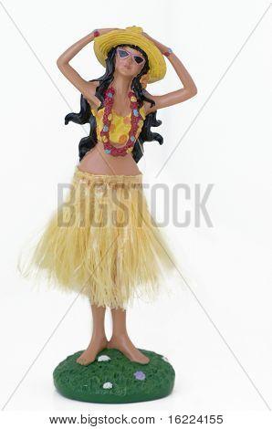 Hula Hawaiian Doll