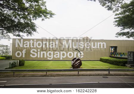 Singapore, Republic of Singapore - 01 November, 2014: National Museum of Singapore