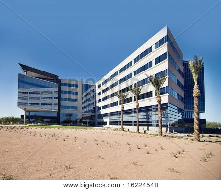 Large commercial office building